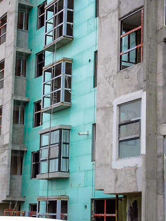 通州新城0604街区保温工程